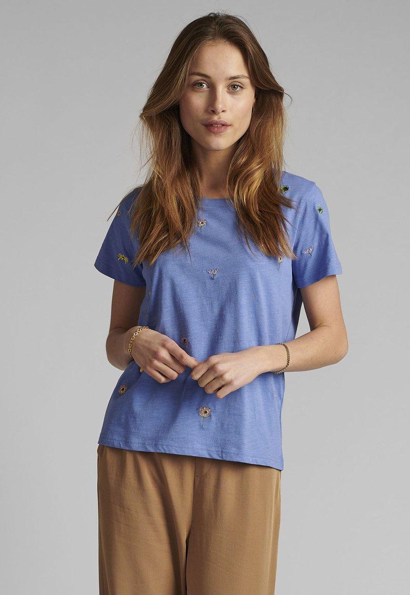 Nümph - Basic T-shirt - wedgewood