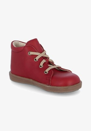 Casual lace-ups - rot