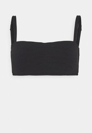 SEASIDE SOIREE BANDEAU  - Bikini top - black