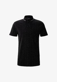 black regular dot print