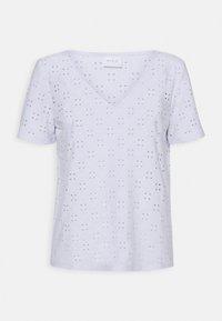 VILA PETITE - VITRESSY DETAIL - Print T-shirt - optical snow - 0