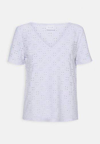VITRESSY DETAIL - Print T-shirt - optical snow