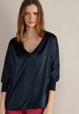 Blouse - blu navy