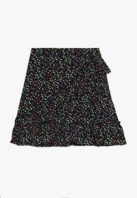 Kids ONLY - KONTHYRA FAKE WRAP SKIRT - A-snit nederdel/ A-formede nederdele - black - 0
