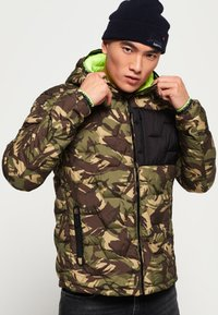Superdry - Winter jacket - green - 0
