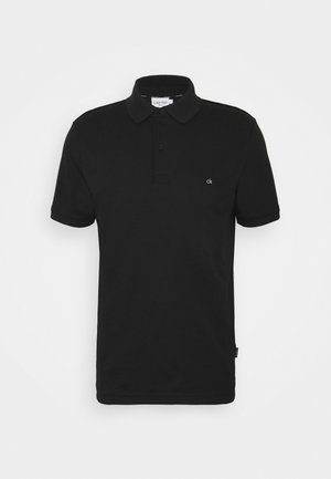 LIQUID TOUCH SLIM FIT - Polo - black
