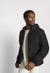 Superdry - SPORTS PUFFER - Winter jacket - black - 3