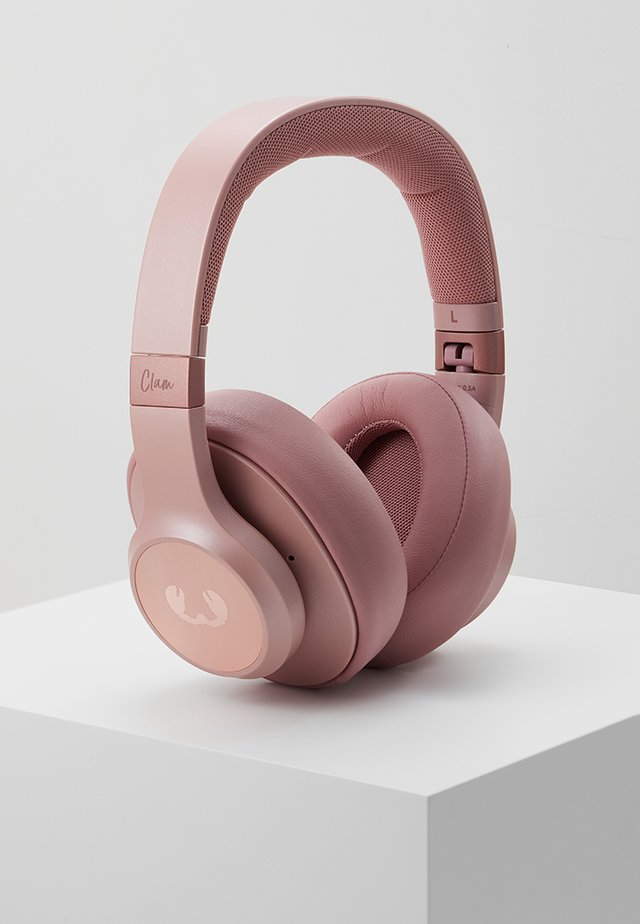 CLAM ANC WIRELESS OVER EAR HEADPHONES - Headphones - dusty pink