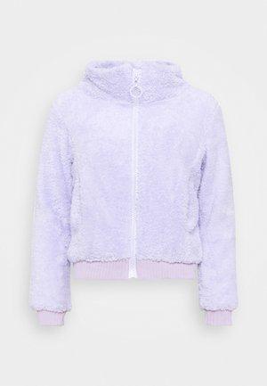Lehká bunda - lilac