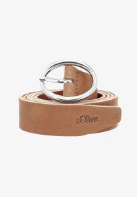 s.Oliver - Belt business - brown - 0