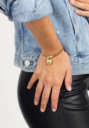 LOCK ME UP - Bracelet - goldenfarbe