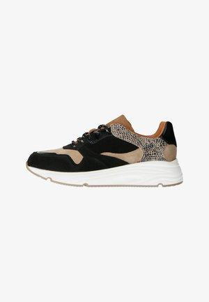 MIT GEPARDENMUSTER - Sneakers laag - schwarz