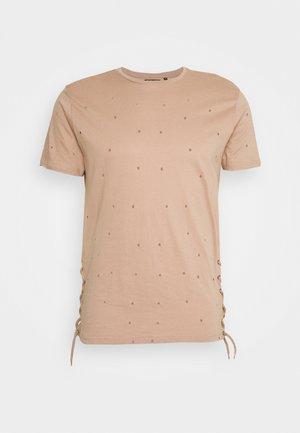 T-shirts basic - dirty pink