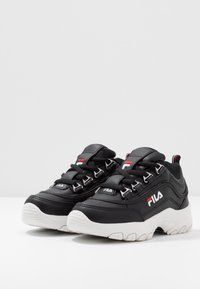 Fila - STRADA KIDS - Zapatillas - black - 3