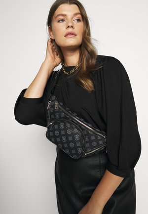 UTILITY VIBE BELT BAG - Ledvinka - coal
