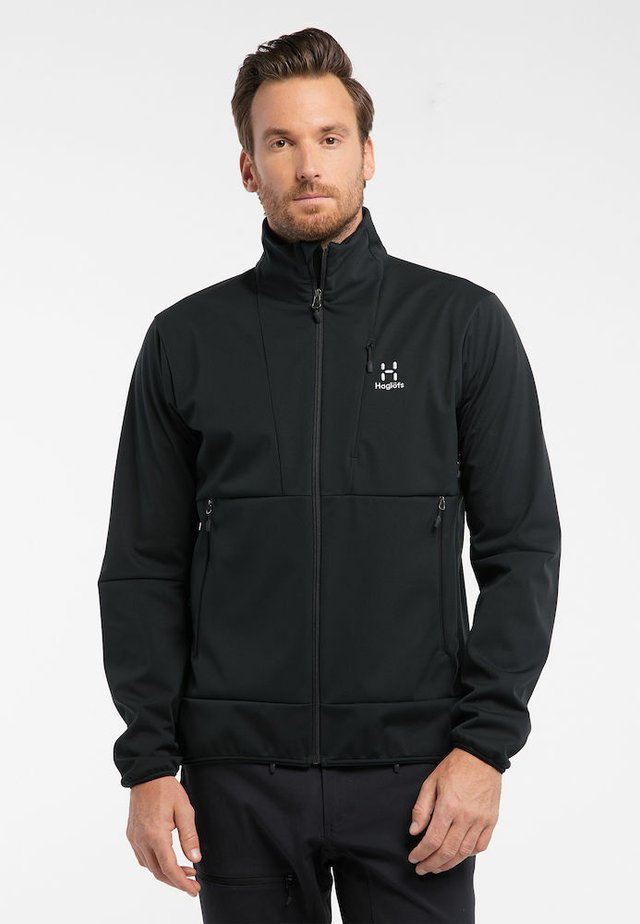 MULTI FLEX JACKET - Soft shell jacket - true black