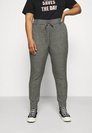 KCSILINA PANTS - Kalhoty - black/grey
