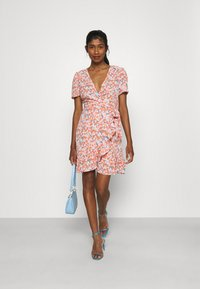 Even&Odd - Day dress - pink/red - 1