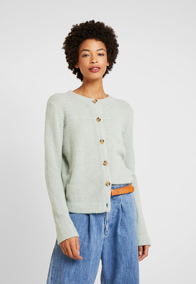 Cream - LUANA CARDIGAN - Cardigan - soft green