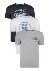 Threadbare - T-SHIRT GRAPHIC 3 PACK B - T-Shirt print - multi - 4