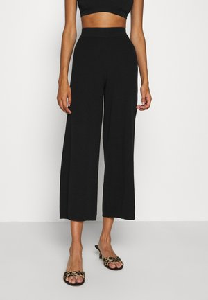 ONLLINA CULOTTE PANT - Trousers - black