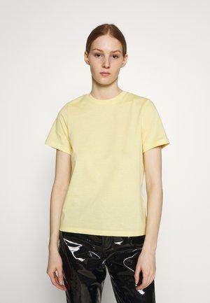 YASTEA O NECK TEE - T-shirt basic - pale banana