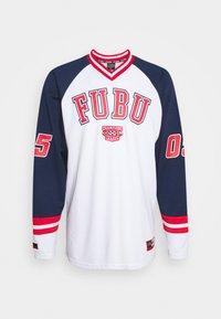 FUBU - COLLEGE HOCKEY - Long sleeved top - white - 0