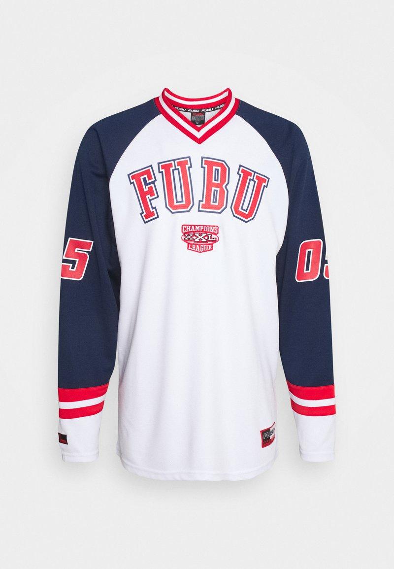 FUBU - COLLEGE HOCKEY - Long sleeved top - white