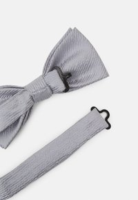 Only & Sons - ONSTOBIAS PATTERN BOWTIE SET - Bow tie - quiet grey - 3