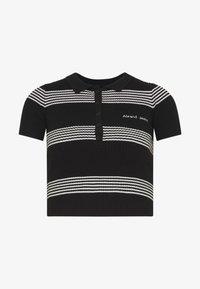 Abrand Jeans - JESSICA - Print T-shirt - black/white - 3