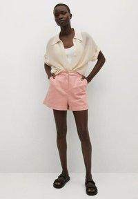 Mango - Shorts - pink - 1
