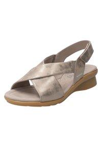 Mephisto - SANDALETTE PHARA - Sandals - dark taupe - 7