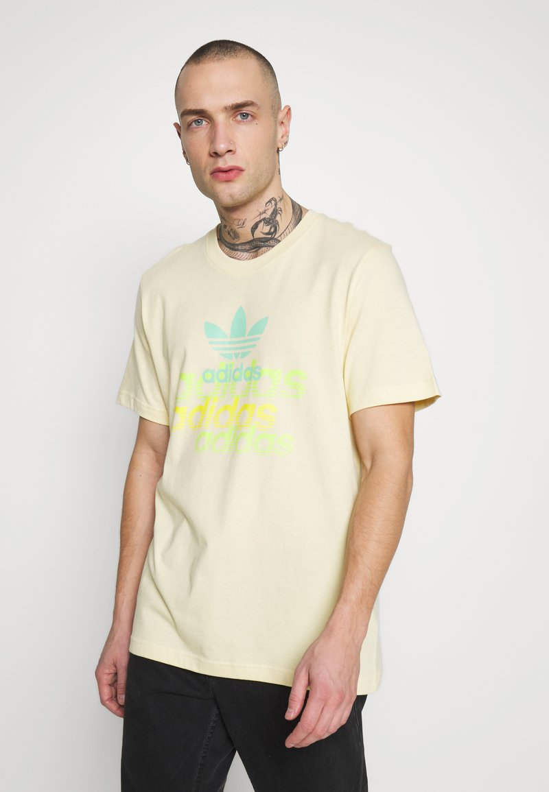adidas Originals - SHATTERED LOGO SHORT SLEEVE GRAPHIC TEE - T-shirt imprimé - easyel