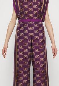 Alberta Ferretti - TROUSERS - Trousers - fantasy violet - 6