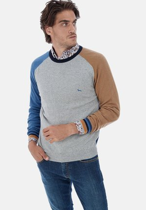 Sweatshirt - grigio denim