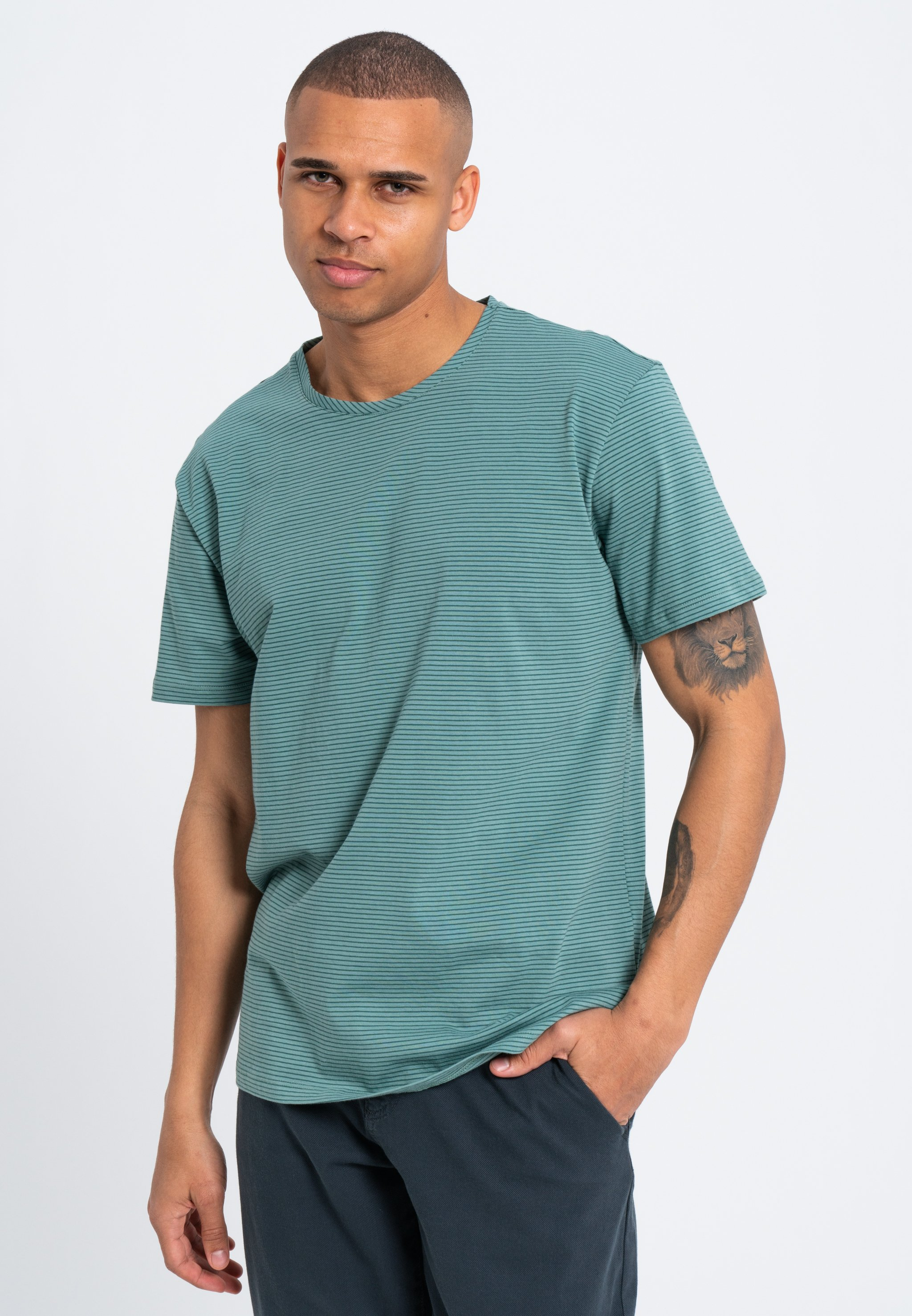 Herren MINIMAL STRIPES - T-Shirt print