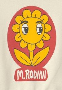 Mini Rodini - BABY FLOWER SP SWEATSHIRT - Mikina - offwhite - 3