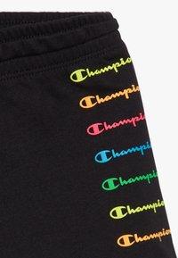 Champion - LEGACY AMERICAN CLASSICS FLUO  - Sportovní kraťasy - black - 3
