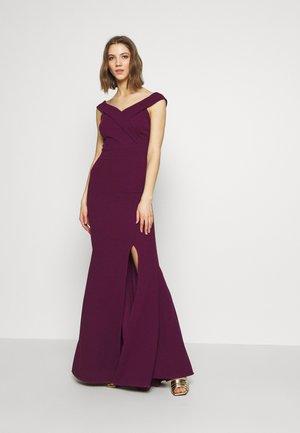 BARDOT  - Společenské šaty - plum