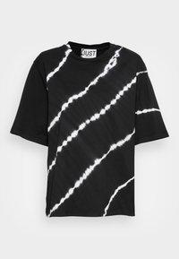 JUST FEMALE - BECKER TEE TIEDYE - Print T-shirt - black - 3