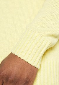 Zign - UNISEX - Cardigan - light yellow