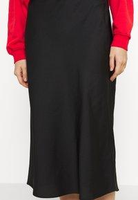 Forever New - BIANCA SLIP MIDI SKIRT - A-line skirt - black - 5