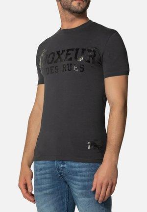 T-shirt con stampa - antracite