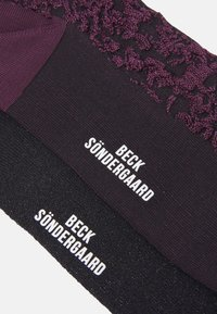 Becksöndergaard - SOCK 2 PACK - Socks - black - 2