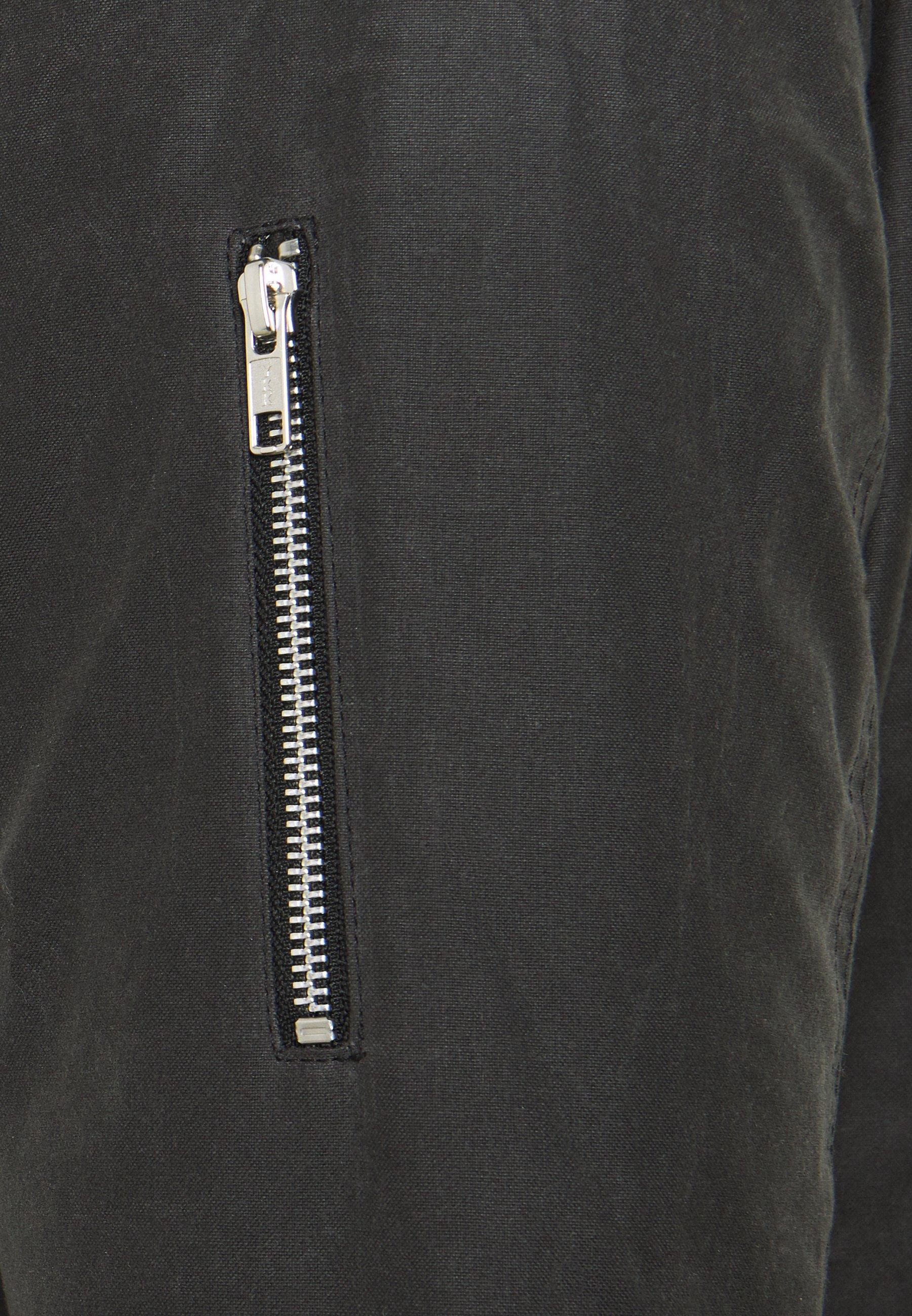 Brixtol Textiles D.W BOMBER Kort kappa rock grey