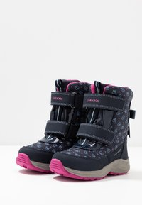 Geox - KURAY GIRL  - Zimní obuv - navy - 3