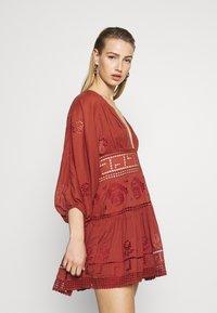 Free People - TEA TIME MINI - Day dress - rust worthy - 4