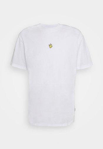 TITO FLAME  RETRO FIT TEE UNISEX  - Print T-shirt - white