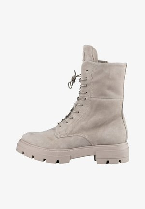 SCHNÜRBOOTS - Lace-up ankle boots - taupe