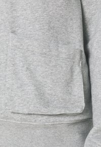 Nike Sportswear - HOODIE - Sweatshirt - dark grey heather/white - 4